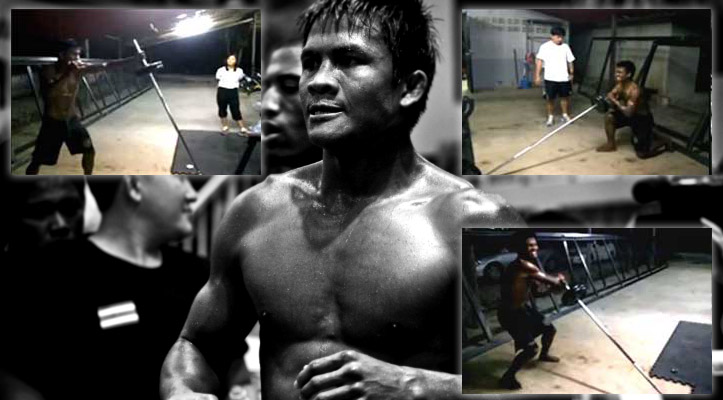 Buakaw strength and conditioning