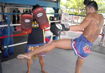 Muay Thai padwork