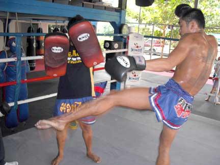 Muay Thai padwork
