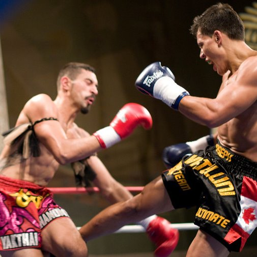 Muay Thai Low-Kick