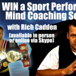Prize Draw - WIN a Sports Performance Mind Coaching Session