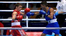 Reece McFadden Commonwealth 2014 Boxing