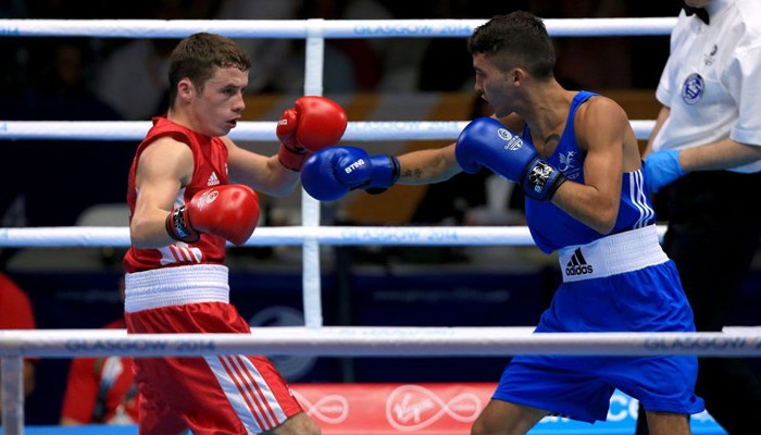 Reece McFadden Commonwealth 2014 Boxing