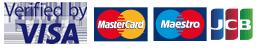 Visa Credit Visa Debit MasterCard Credit MasterCard Debit Visa Electron Maestro JCB