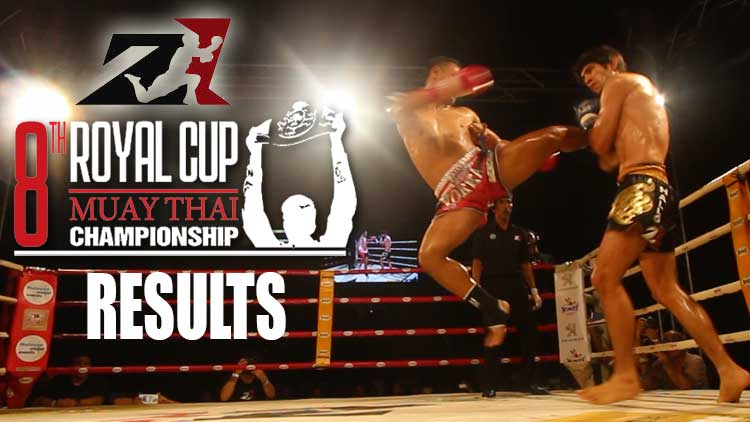 Z1 8th Royal Cup Muay Thai Championship Results