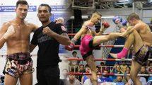 Matthew Butcher fights at Bangla Boxing Stadium