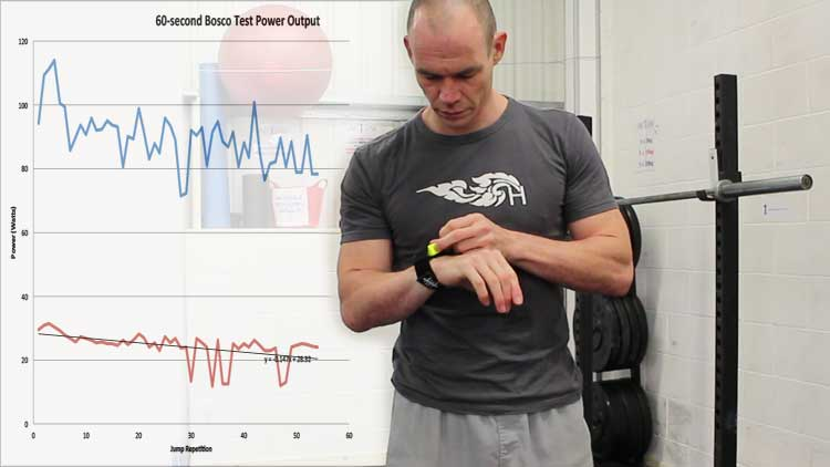 Bosco Power Endurance Test VBT