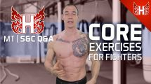Core exercises for fighters