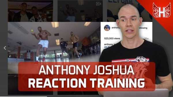 Anthony Joshua Reaction Training