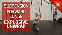Forward Lunge Explosive Unwrap - alternative to med ball throw