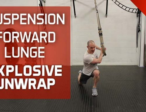 CAN'T THROW MED BALLS IN YOUR GYM? TRY THIS SUSPENSION EXERCISE INSTEAD!