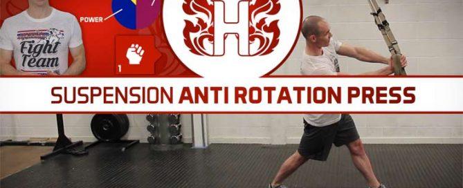Suspension Anti Rotation Press