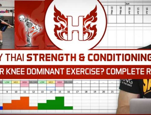 HIP OR KNEE DOMINANT EXERCISE? COMPLETE REST? | MUAY THAI STRENGTH AND CONDITIONING Q&A