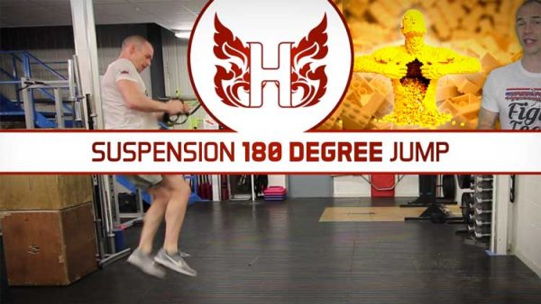 Exercise Sophistication – Suspension 180 Degree Jump