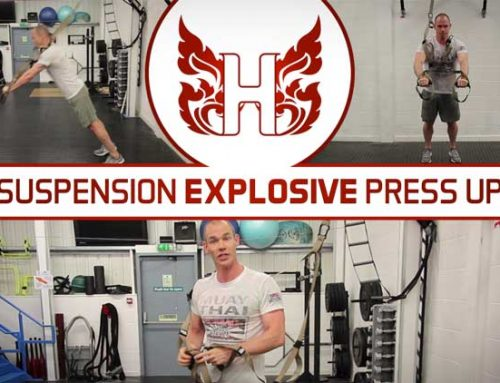 SUSPENSION EXPLOSIVE PRESS UP FOR MUAY THAI