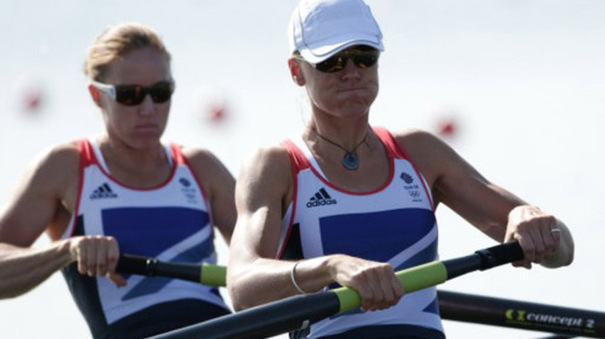 Olympic rowing Heather Stanning