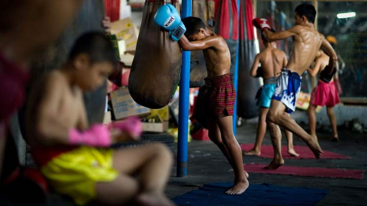 Tired Muay Thai