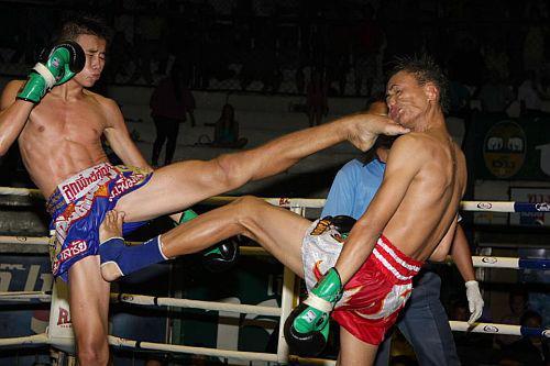 Neck strength in Muay Thai