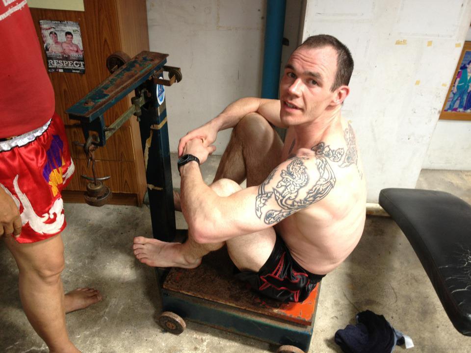 Weighing in at Sasiprapa Gym