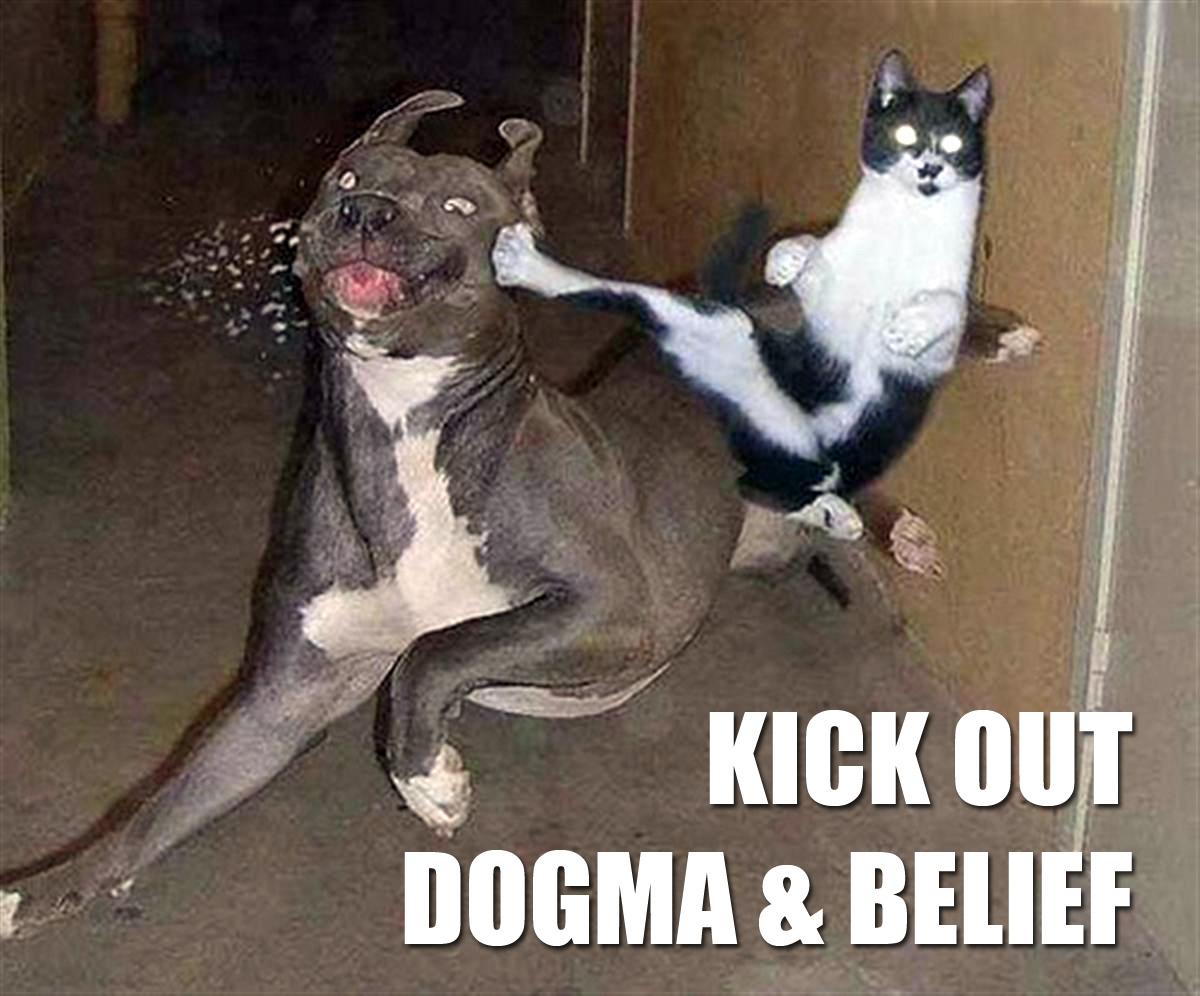 Wisdom vs Knowledge, Dogma and Belief