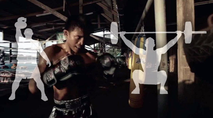 Olympic Lifts and Kettlebell Training for Muay Thai