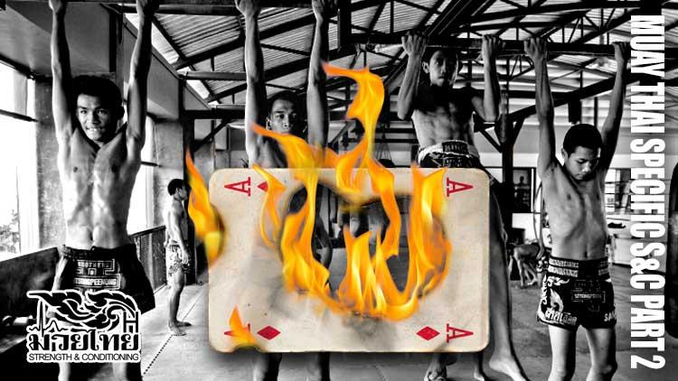 Muay Thai specific exercises