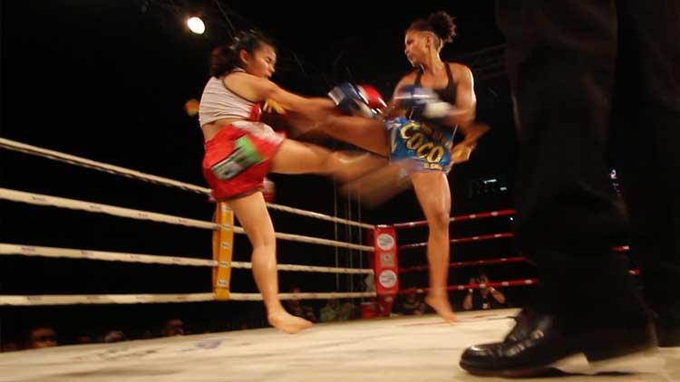 Cocopuff W Santai vs Nang Hong Liangprasert