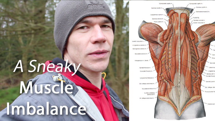 A sneaky muscle imbalance