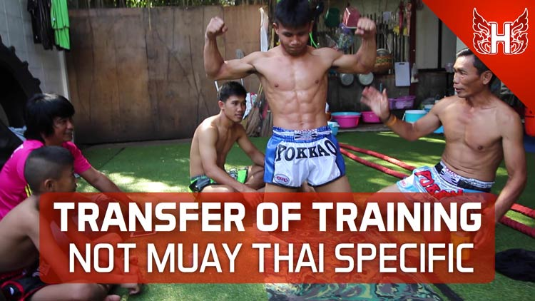 Transfer of Training not Muay Thai Specific Exercise
