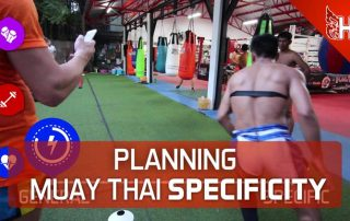 Planning Muay Thai Specificity