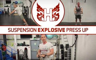 Suspension Explosive Press Up