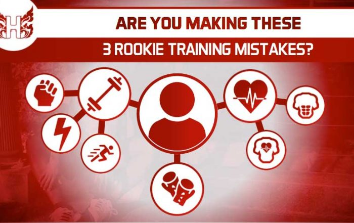 Are You Making These 3 Rookie Training Mistakes