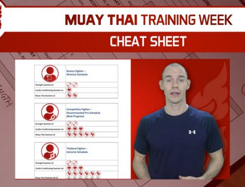 MUAY THAI CHEAT SHEET – SOME HELP GETTING YOUR TRAINING STARTED