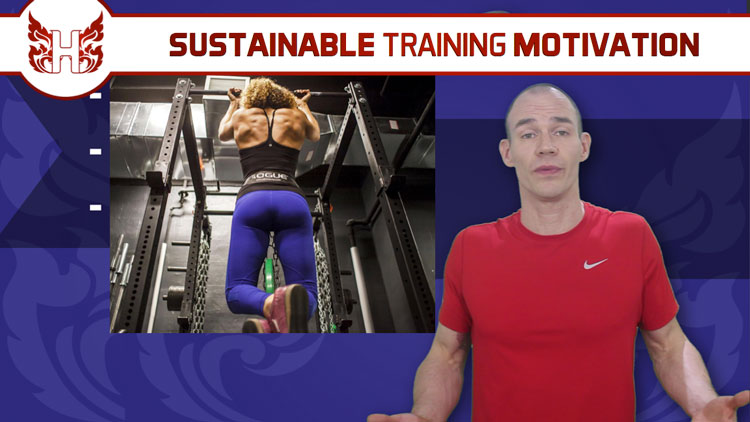 3-steps to sustainable training motivation