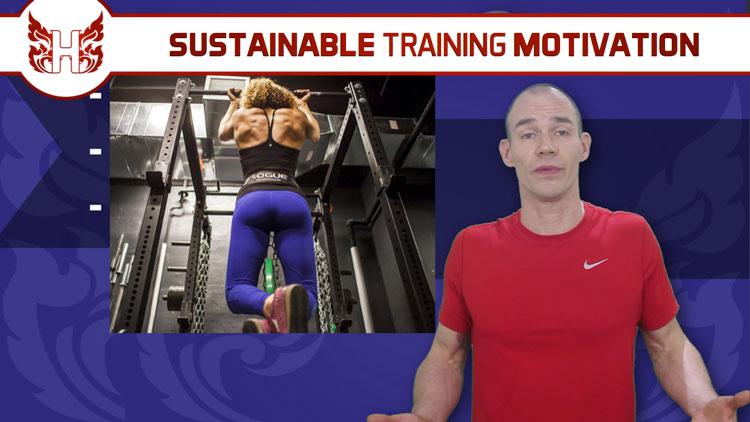 3-steps to sustainable training motivation