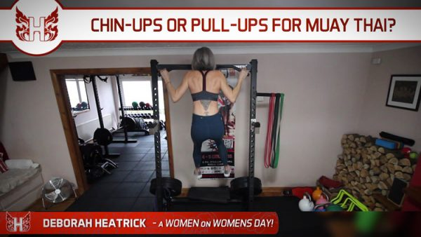 Chin-ups or Pull-ups for Muay Thai