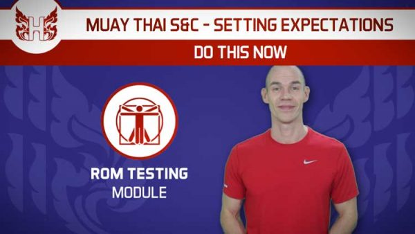 Muay Thai strength and conditioning - Do this now!