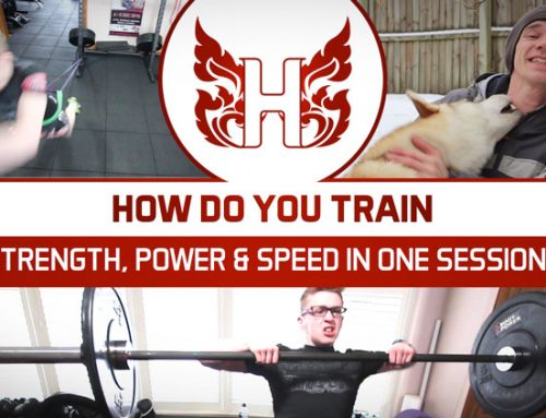 HOW DO YOU TRAIN STRENGTH, POWER AND SPEED IN ONE TRAINING SESSION?