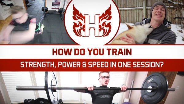 How Do You Train Strength, Power and Speed in One Session?