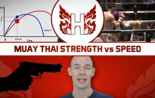 Muay Thai strength vs speed