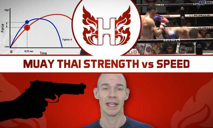 Muay Thai strength vs speed