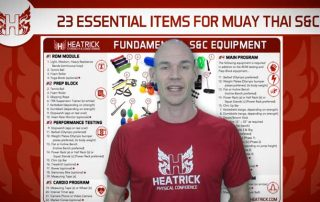 Essential Muay Thai strength and conditioning equipment