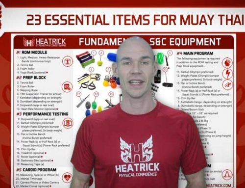 23 ESSENTIAL ITEMS OF MUAY THAI STRENGTH AND CONDITIONING EQUIPMENT