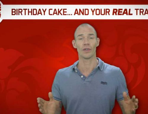 BIRTHDAY CAKE… AND YOUR REAL MUAY THAI TRAINING!