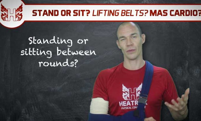 MT S&C Q&A | Stand or Sit? Weightlifting Belts? MAS Cardio?