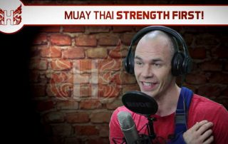 Muay Thai Strength First!