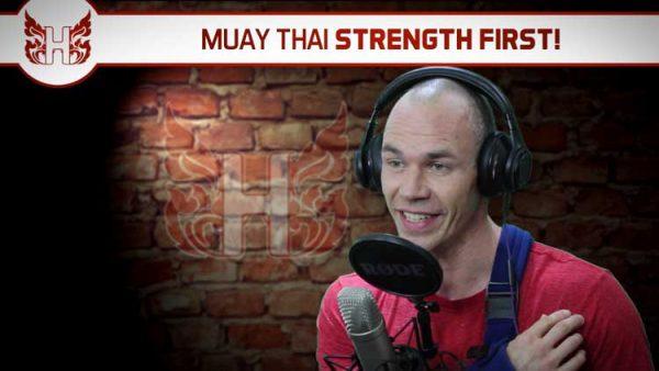 Muay Thai Strength First!