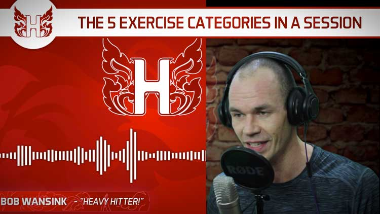 The 5 Exercise Categories in a Resistance Training Session