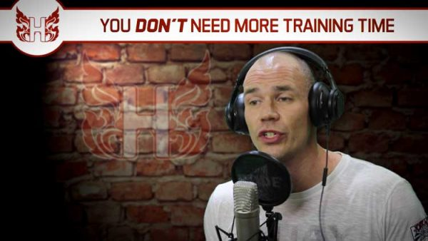 You don't need more training time!