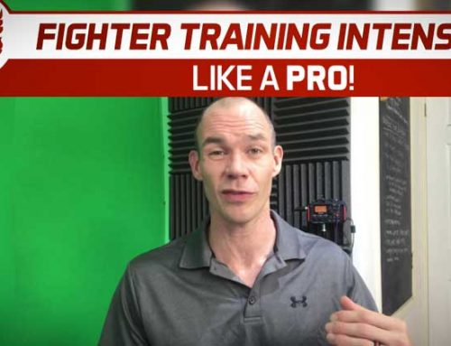 FIGHTER TRAINING INTENSITY – LIKE A PRO!